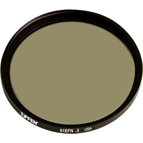 Tiffen 105mm (Coarse Thread, 1.0) Combination Light Balancing 81EF/Neutral Density (ND) 0.3 Glass Filter