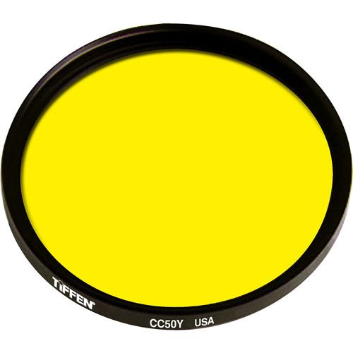 Tiffen 105mm Coarse Thread CC50Y Yellow Filter