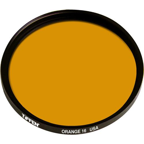 Tiffen 105C (Coarse)  Orange #16 Glass Filter for Black & White Film