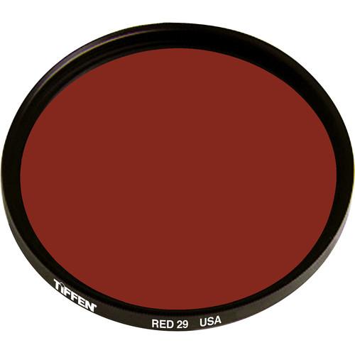 Tiffen 105C (Coarse) Dark Red #29 Glass Filter for Black & White Film