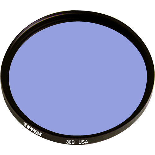 Tiffen 125mm 80B Color Conversion Filter (Coarse Threads)