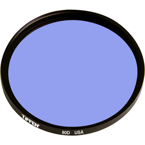 Tiffen 125mm 80D Color Conversion Filter (Coarse Threads)