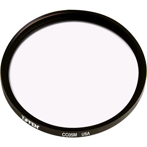 Tiffen 125mm Coarse Thread CC05M Magenta Filter