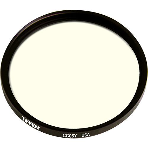 Tiffen 125mm Coarse Thread CC05Y Yellow Filter