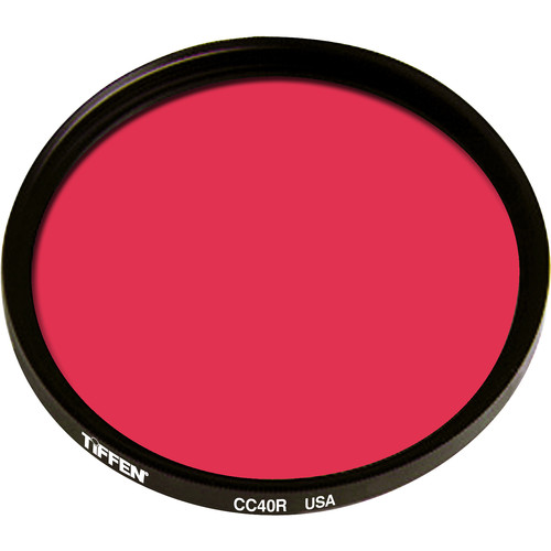 Tiffen 125mm Coarse Thread CC40R Red Filter