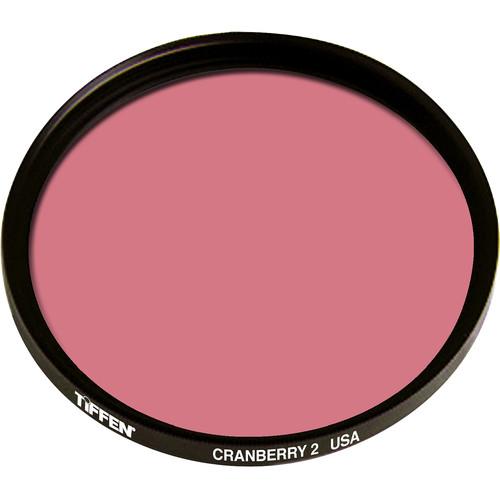Tiffen 125mm Coarse Thread 2 Cranberry Solid Color Filter