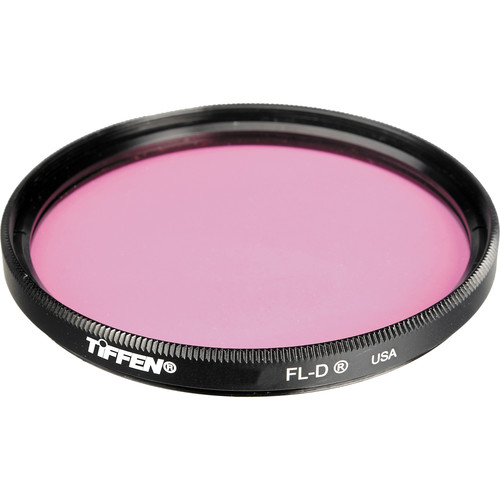 Tiffen 125C (Coarse Thread) FL-D Fluorescent Glass Filter for Daylight Film