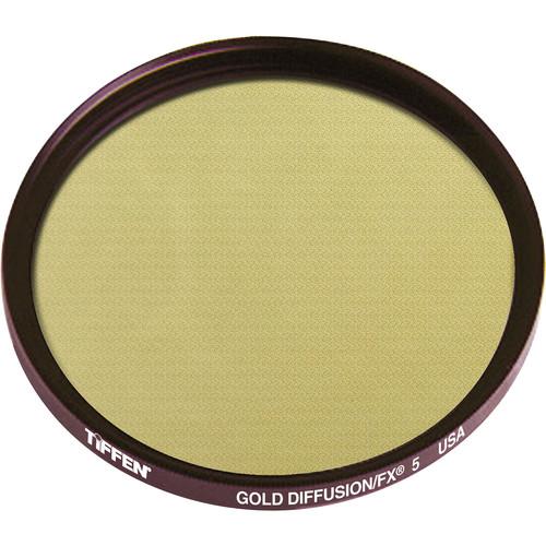 Tiffen 125mm Coarse Thread Gold Diffusion/FX 5 Filter