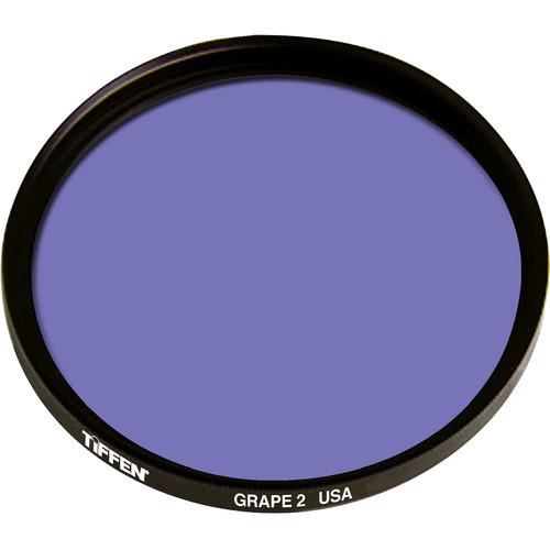 Tiffen 125mm Coarse Thread 2 Grape Solid Color Filter