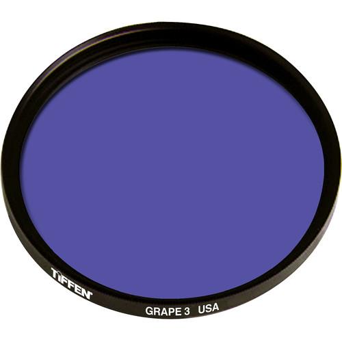 Tiffen 125mm Coarse Thread 3 Grape Solid Color Filter