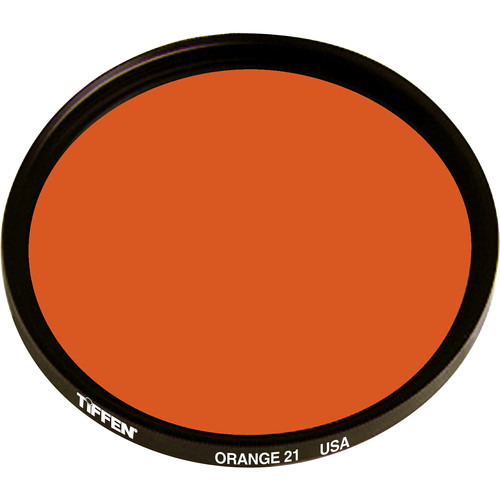 Tiffen #21 Orange Filter (125C, Coarse Thread)