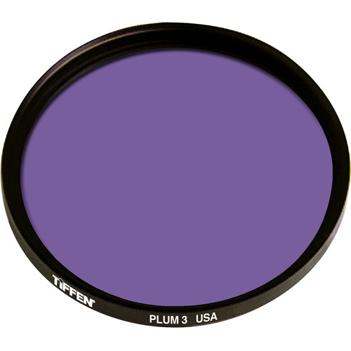 Tiffen 125mm Coarse Thread 3 Plum Solid Color Filter