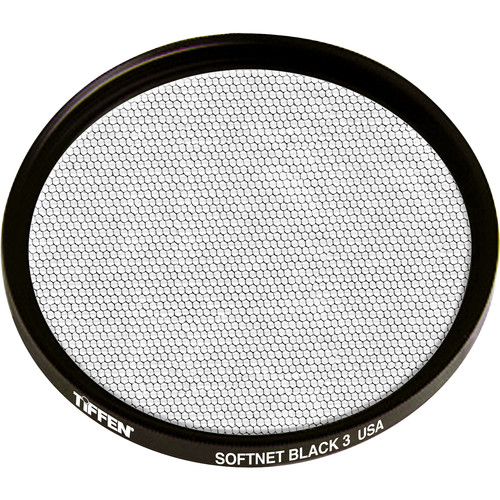 Tiffen 125mm Coarse Thread Softnet Black 3 Filter