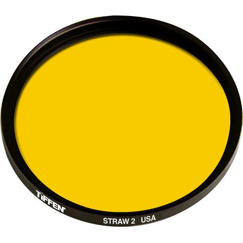 Tiffen 125mm Coarse Thread 2 Straw Solid Color Filter
