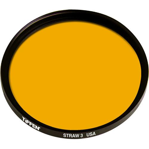 Tiffen 125mm Coarse Thread 3 Straw Solid Color Filter