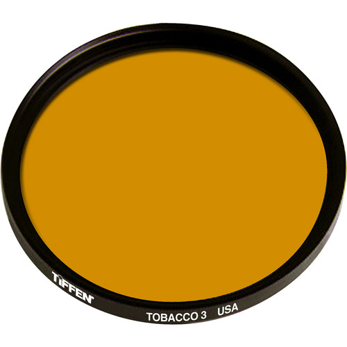 Tiffen 125mm Coarse Thread 3 Tobacco Solid Color Filter