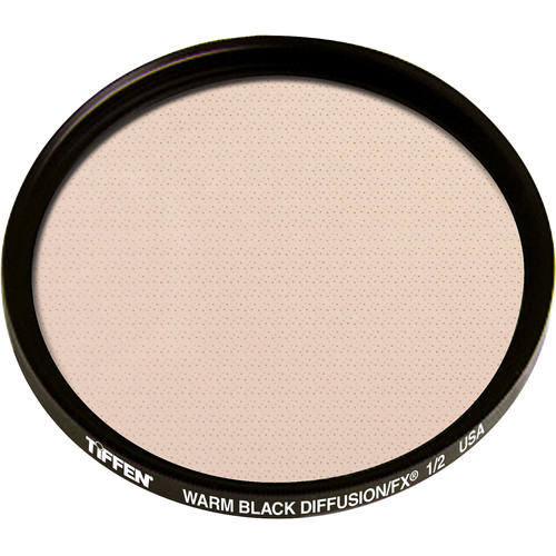 Tiffen 138mm Warm Black Diffusion/FX 1/2 Filter