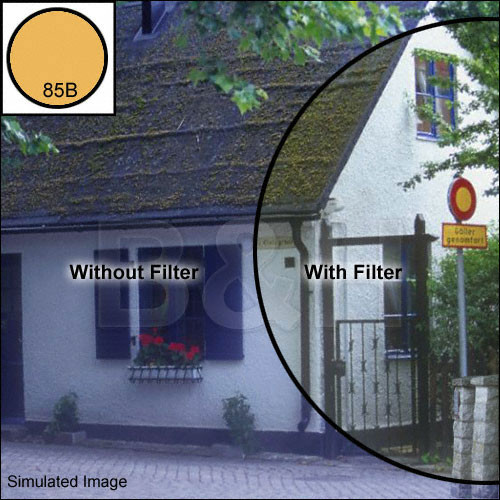 "Tiffen 2 x 2"" 85B Color Conversion Filter"