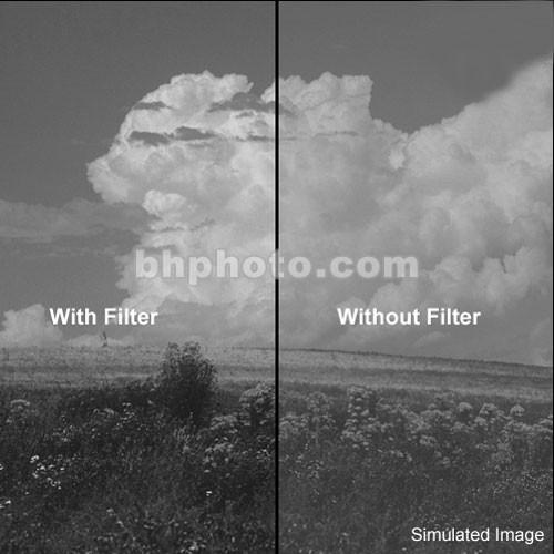 """Tiffen 2x2"""" Yellow 2 #8 Glass Filter for Black & White Film"""