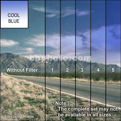 "Tiffen 2 x 2"" Blue 4 Soft Edge Graduated Filter"