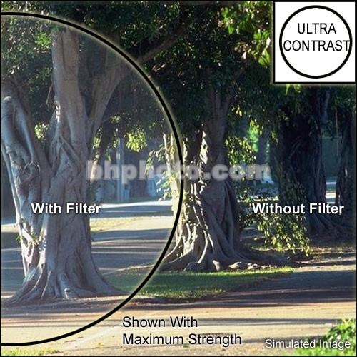 "Tiffen 2x2"" Low Light Ultra Contrast 3 Glass Filter"
