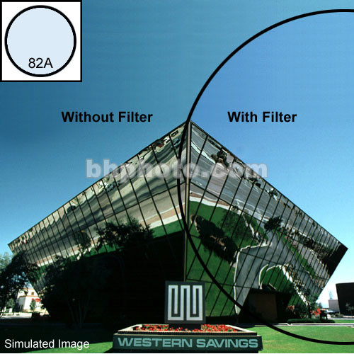 "Tiffen 2 x 3"" 82A Light Balancing Filter"