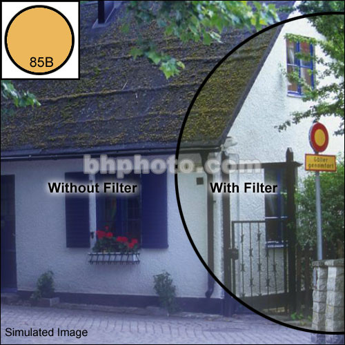 "Tiffen 2 x 3"" 85B Color Conversion Filter"