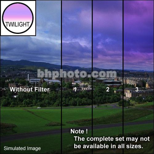 "Tiffen 2 x 3"" 1 Twilight Graduated Filter (Horizontal Orientation)"