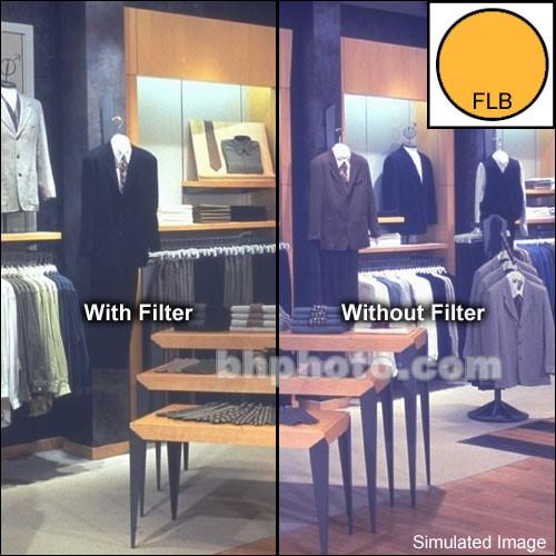 """Tiffen 2x3"""" FL-B Fluorescent Glass Filter for Tungsten Film"""