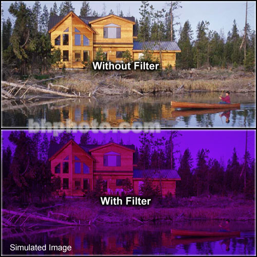 "Tiffen 2 x 3"" 3 Grape Solid Color Filter"