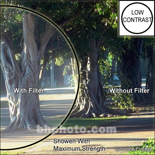 "Tiffen 2x3"" Low Light Ultra Contrast 1 Glass Filter"