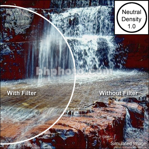 "Tiffen 2 x 3"" Neutral Density 1.0 Filter"