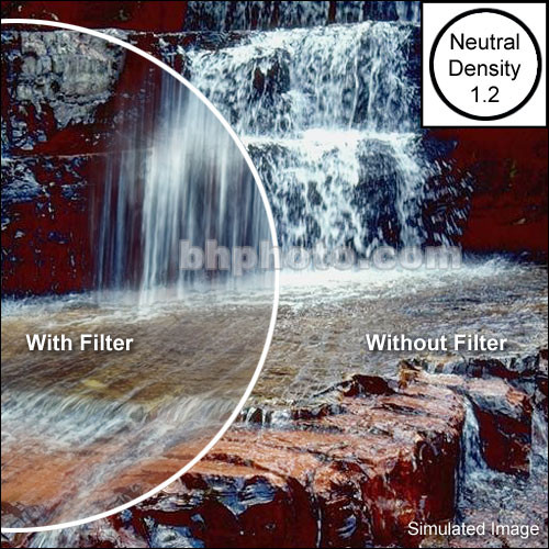 "Tiffen 2 x 3"" Neutral Density 1.2 Filter"