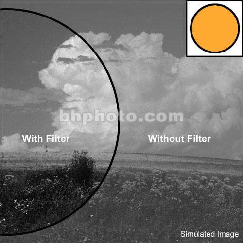 "Tiffen 2x3"" Orange #21 Glass Filter for Black & White Film"