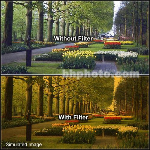"Tiffen 2 x 3"" 3 Tangerine Solid Color Filter"