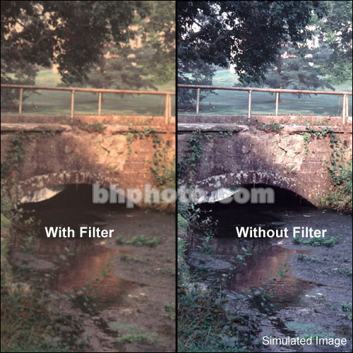 "Tiffen 2 x 3"" Warm Pro-Mist 1/2 Filter"