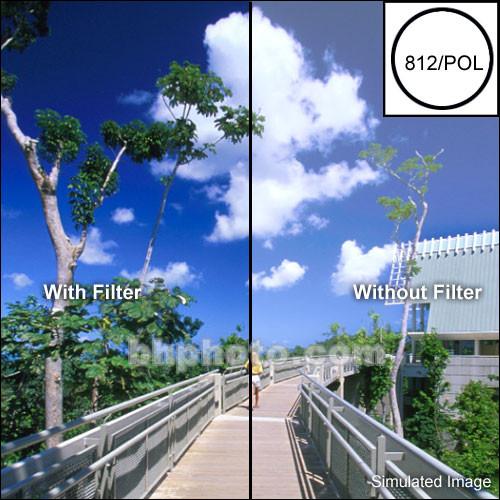 "Tiffen 2X3"" Warm Linear Polarizing Glass Filter"