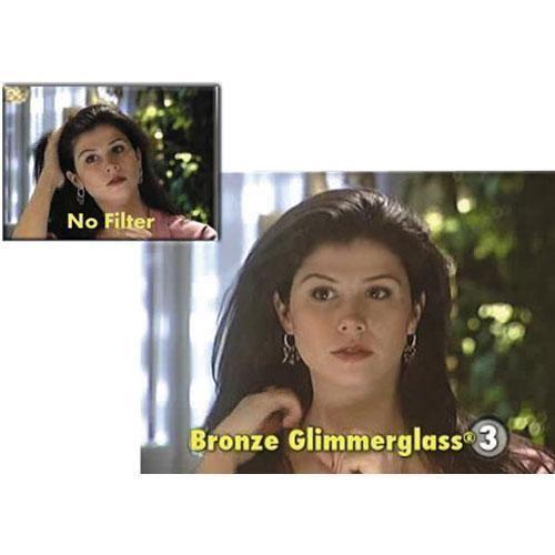 """Tiffen 2 x 3"""" Bronze Glimmerglass 3 Filter"""