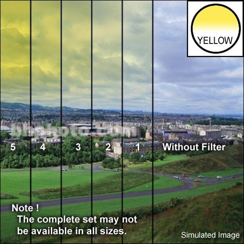 "Tiffen 3 x 3"" 2 Yellow Hard-Edge Graduated Filter"