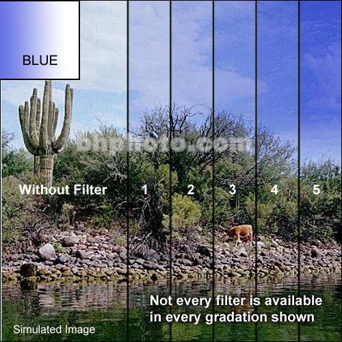 "Tiffen 3 x 3"" Complement Blue 1 Filter"