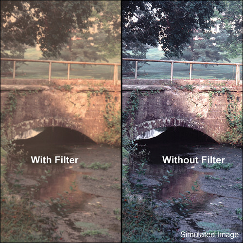 "Tiffen 3 x 3"" Warm Pro-Mist 2 Filter"
