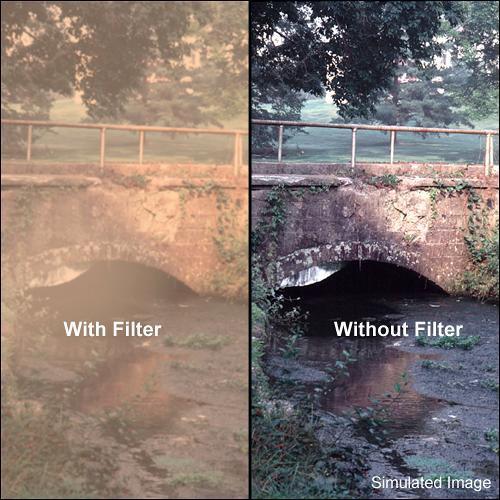"Tiffen 3 x 3"" Warm Pro-Mist 5 Filter"