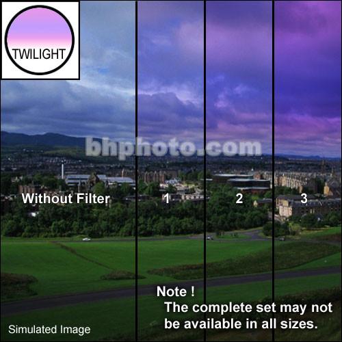 "Tiffen 3 x 4"" 2 Twilight Graduated Filter (Horizontal Orientation)"
