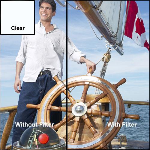 "Tiffen 3x4"" Clear Premium Water White Glass Filter"