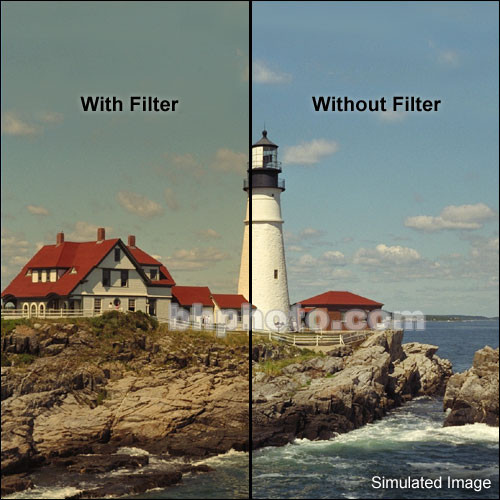 "Tiffen 3 x 4"" 4 Coral Solid Color Filter"