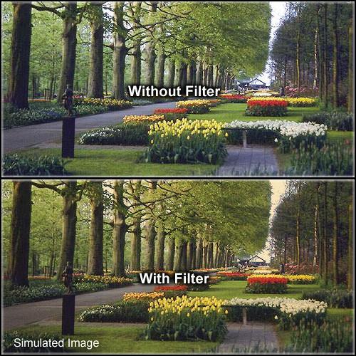 "Tiffen 3 x 4"" 1 Tangerine Solid Color Filter"