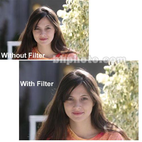 "Tiffen 3 x 4"" Glimmerglass 1/4 Filter"