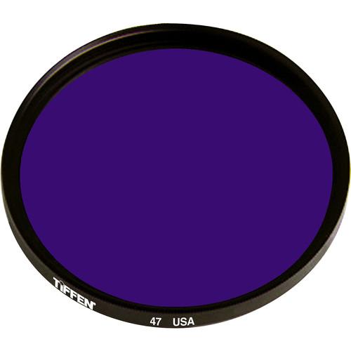 "Tiffen #47 Blue Filter (4.5"", Non-Threaded)"