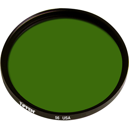 "Tiffen 4.5"" Round Green #56 Filter"