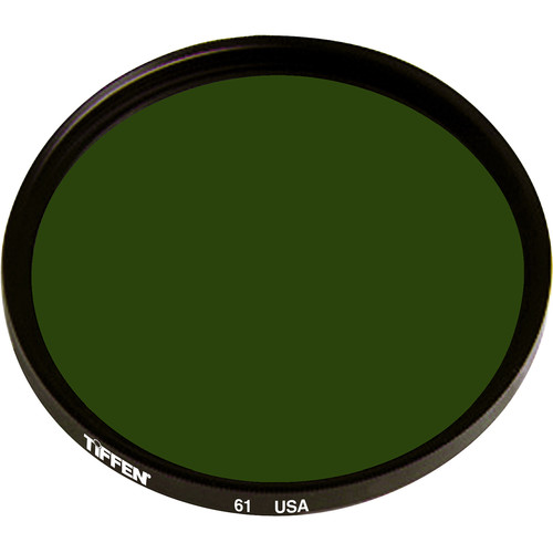 "Tiffen 4.5"" Round Dark Green #61 Filter"